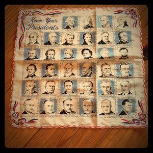 Rare vintage handkerchief